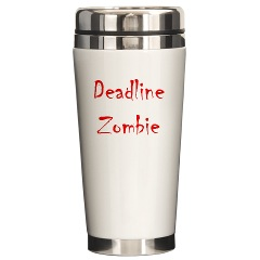 deadline zombie coffee