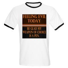feeling evil T